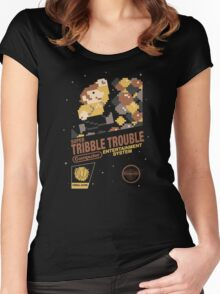 Super Tribble Trouble Women's Fitted Scoop T-Shirt