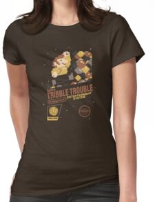 Super Tribble Trouble Womens Fitted T-Shirt