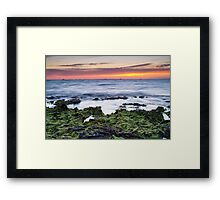 Half Moon Bay Sunset Framed Print