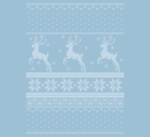 Christmas Knit Version 3 Kids Tee