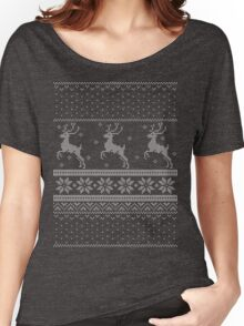 Christmas Knit Version 3 Women's Relaxed Fit T-Shirt