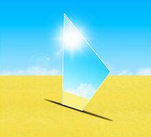triangle mirror by naphotos