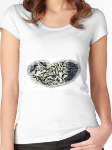 Pussycat Women's Fitted Scoop T-Shirt