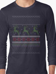 Christmas Knit Version 4 Long Sleeve T-Shirt