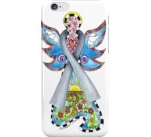 BRAIN CANCER ANGEL - HOPE LOVE FAITH iPhone Case/Skin