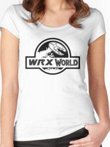 wrx world Women's Fitted Scoop T-Shirt