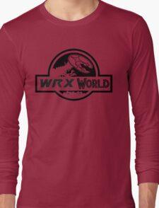 wrx world Long Sleeve T-Shirt