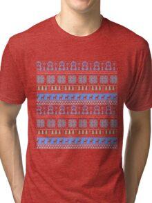 Holiday Jumper Tri-blend T-Shirt