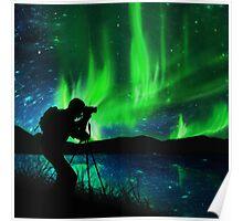 shooting aurora Poster