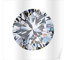 brilliant cut diamond  Poster