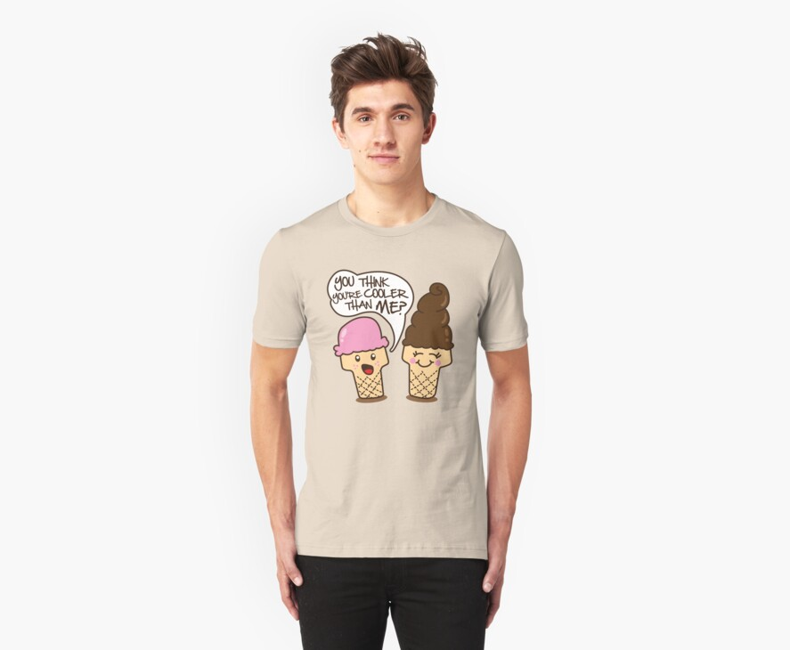 Ice Cream Is Cool by DetourShirts