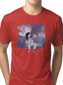 Space Cadet – Motley Mercury Tri-blend T-Shirt