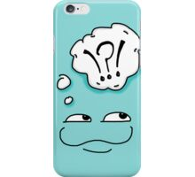 Froglet blue iPhone Case/Skin