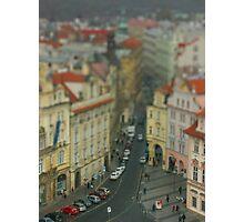Miniature Prague Photographic Print