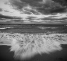 Autumn at the Beach by Dan Bronish