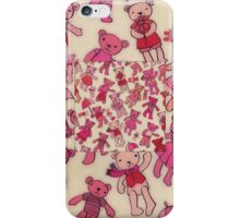 Teddies! iPhone Case/Skin