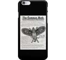 The Common Moth iPhone Case/Skin