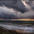 Stormy evening at Halls Head by Peter Rattigan