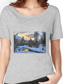 Winter Evening Women's Relaxed Fit T-Shirt