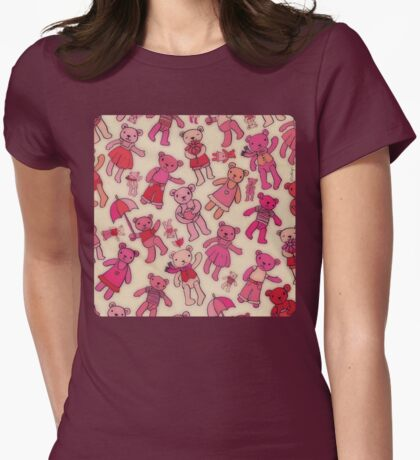Teddies! Womens Fitted T-Shirt