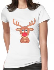 Rudolf  Womens Fitted T-Shirt