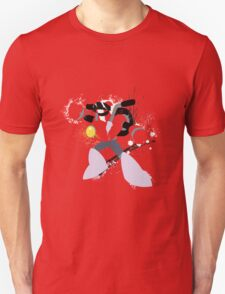Nitro Man Splattery Vector Design T-Shirt