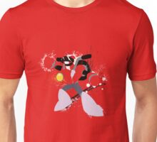 Nitro Man Splattery Vector Design Unisex T-Shirt