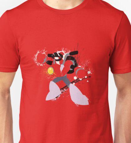 Nitro Man Splattery Vector Design Unisex T-Shirt
