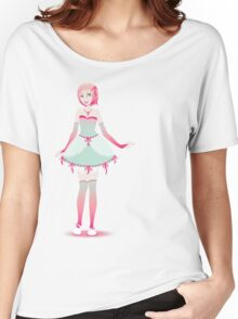 Strawberries and Mint Doll Women's Relaxed Fit T-Shirt