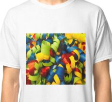 Colorful Curly Ribbons Classic T-Shirt