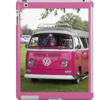 VW Camper in pink iPad Case/Skin
