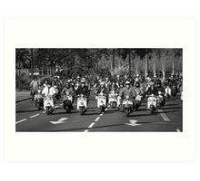Remembrance Day MODs  Art Print