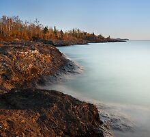Sunrise on the North Shore by April Koehler