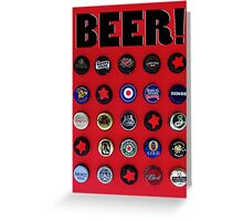 Celebrate Beer! Greeting Card