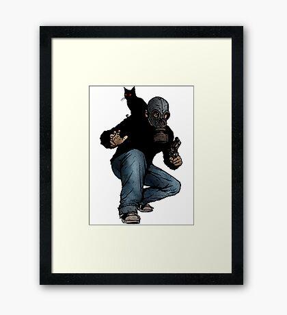 I Can Haz Leroy Framed Print