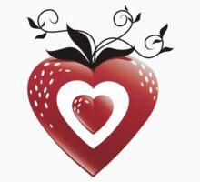 HeartBerry One Piece - Short Sleeve