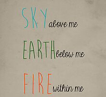 Sky, Earth, & Fire by tlcollins402
