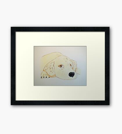 Is it time for dinner yet? Framed Print