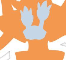 PKMN Silhouette - Binacle Family Sticker