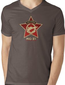 Think In Russian Mens V-Neck T-Shirt