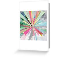 Graphic X Greeting Card