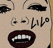 Lindsay Lohan Vampire Pop by MonsieurM