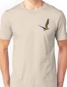 Blue & Yellow Macaw Unisex T-Shirt