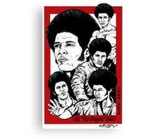 Jim Kelly Tribute Canvas Print