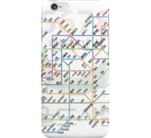 Seoul Tube map iPhone Case/Skin