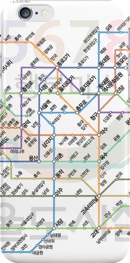 Seoul Tube map by MrYum