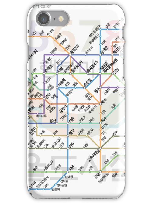 Seoul Tube map by MrYum