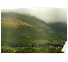 Misty in the Lakes  Poster