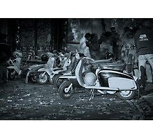 Mods remembrance day meeting  Photographic Print