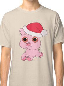 Christmas Pig Classic T-Shirt
